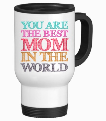 Tiedribbons Best Mom In The Worls Gifts For Mom Travel Stainless Steel Mug