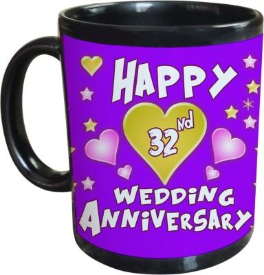 Sajawat Homes 32nd Wedding Anniversary Coffee Ceramic Mug