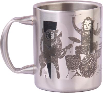 Imagica Metal Rockstars Stainless Steel Mug