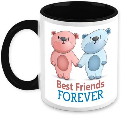 HomeSoGood Gift For Friend- Best Buddies Forever Ceramic Mug