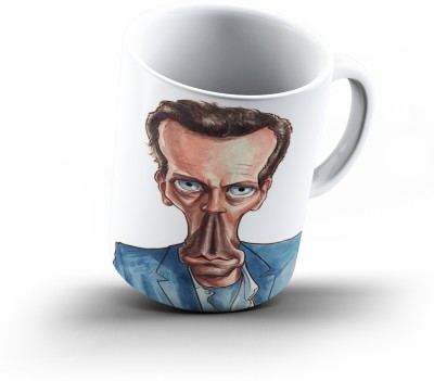 Ucard Dr House Caricature830 Bone China, Ceramic, Porcelain Mug