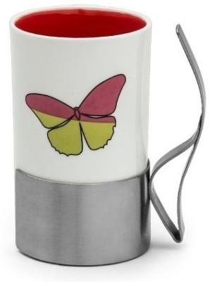 Arttdinox Love Stainless Steel, Ceramic Mug