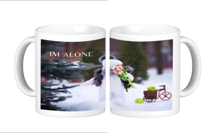 Shopmillions I M Alone Ceramic Mug