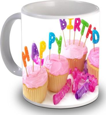 Print Helllo Happy Birthday R190 Ceramic Mug