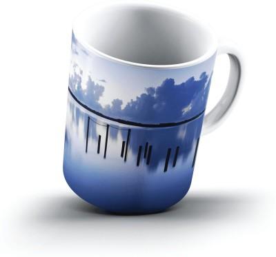 Ucard Landscape702803 Bone China, Ceramic, Porcelain Mug