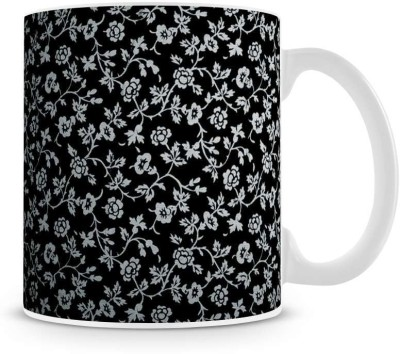 Saledart Mg349-Beautiful And Awesome Rose Background Wallpaper Ceramic Mug