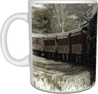 Creatives Train Ceramic Mug