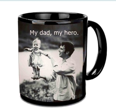 RajLaxmi My dad,My Hero Multicolor  Ceramic Mug