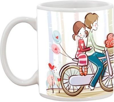 Goonlineshop Cute couples Ceramic Mug