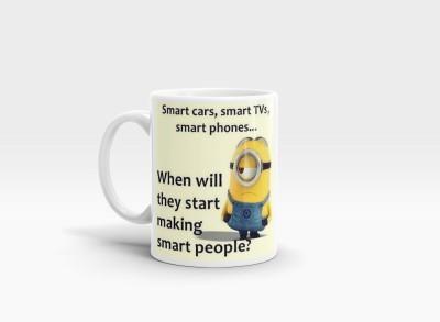 Hainaworld Mini Smart People Coffee  Ceramic Mug