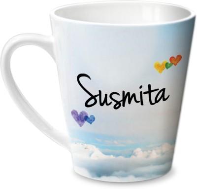 Hot Muggs Simply Love You Susmita Conical  Ceramic Mug