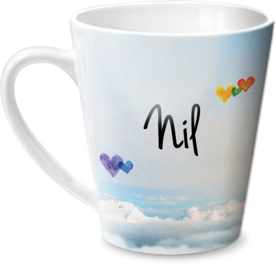 Hot Muggs Simply Love You Nil Conical  Ceramic Mug