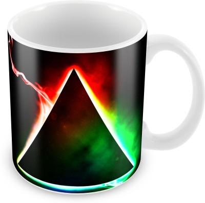 Prinzox Triangular Light Effect Ceramic Mug