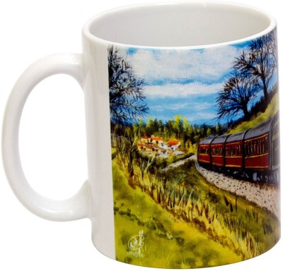 IMFPA Narrow Gauge Train Ceramic Mug