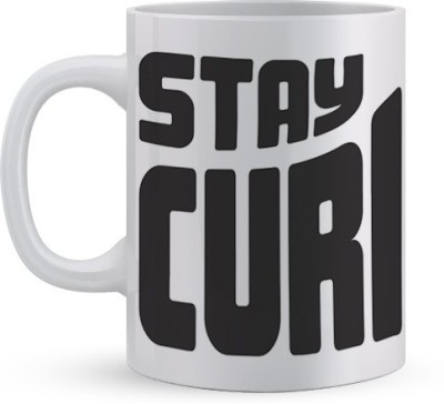 Utpatang Stay Curious Ceramic Mug