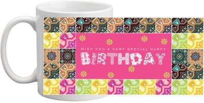 MUG HI MUG BIRTHDAY MUG 1021 Ceramic Mug
