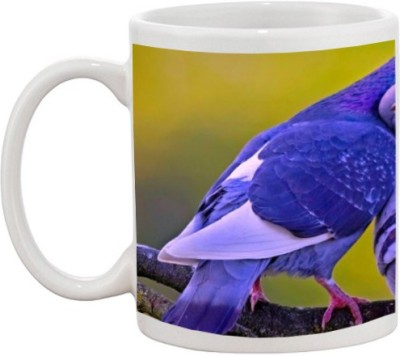 Go online shop Loving Parrot Ceramic Mug
