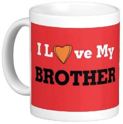 Easyhome I Love My brother Ceramic Mug