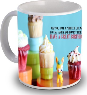 Print Helllo Happy Birthday R175 Ceramic Mug