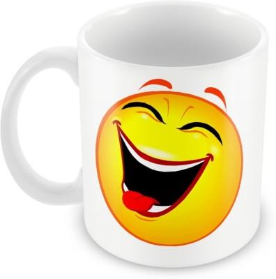 AKUP laughing-smiley Ceramic Mug