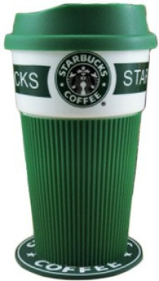 Satyam Kraft Starbucks CP001 Plastic Mug(300 ml) at flipkart
