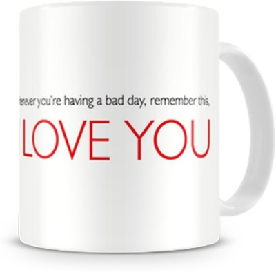 Print Haat Couple Togetherness Love Ceramic Mug