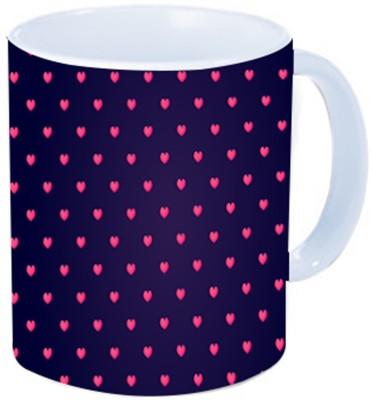 Rawkart Purple heart Ceramic Mug