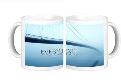 Shopmillions Inspirational Quote Ceramic Mug