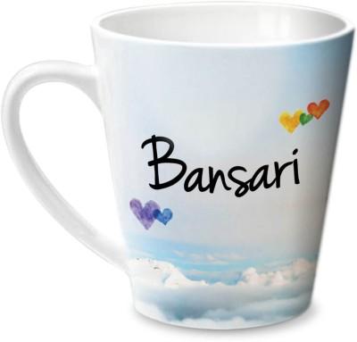 Hot Muggs Simply Love You Bansari Conical  Ceramic Mug