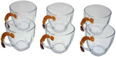JewelKraft Designs Jaipur Red Glass Mug
