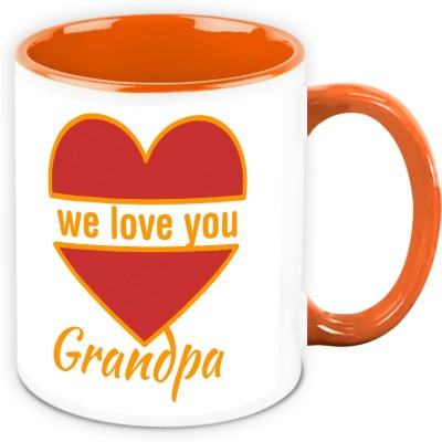 HomeSoGood  For Grandfather - We Love You Grandpa Ceramic Mug