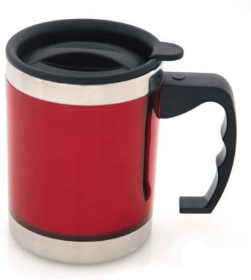Afinito Red Stainless Steel Mug