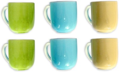 Devnow Stoneware Pastel Dreams Six s 300ml Porcelain Mug