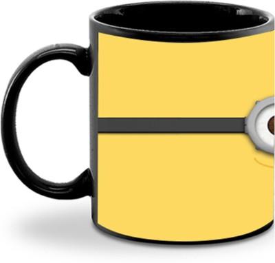 Aurra Yellow eye minion Ceramic Mug