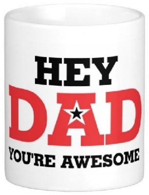 Easyhome You Are Awesome Dad Ceramic Mug