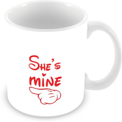 Prinzox she's mine valentine gifting ideas for her Ceramic Mug