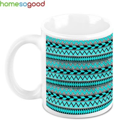 HomeSoGood Flow Of Electrons Ceramic Mug