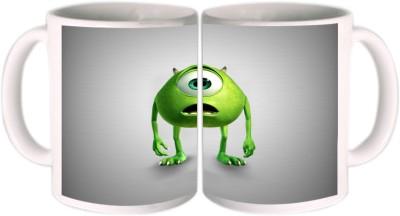 Shopkeeda Monsters Inc Mike Ceramic Mug