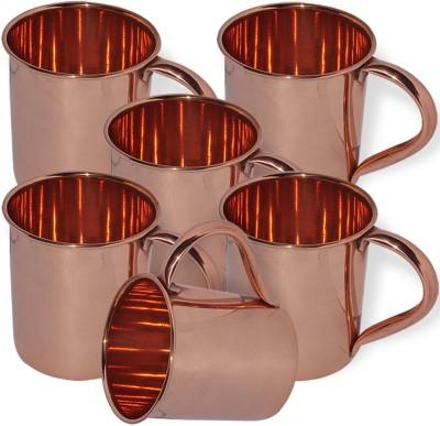 AsiaCraft MOSCOWMUG-001-6 Copper Mug
