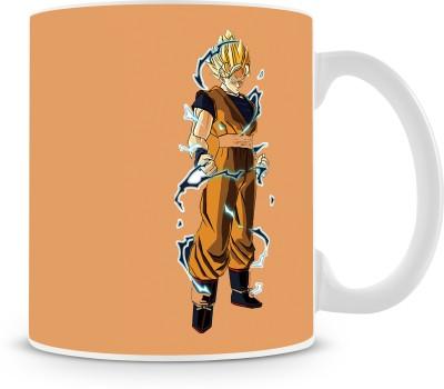 Saledart MG1115- Dragon Ball Z Goku Stylish Look Ceramic Mug