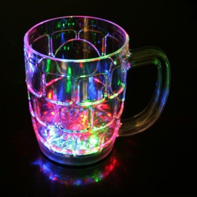 Lotus Inductive Rainbow Color Cup Crystal Mug