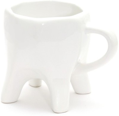 ThinNFat Tooth  Pack Of 4 (250ml) Ceramic Mug