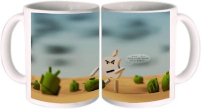 Shopkeeda One More Thing Ceramic Mug