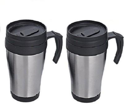 Phoenix High Quality Inside Plastic Outside Steel Plastic Mug