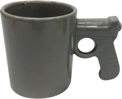 Dayinternational Gun Handle Ceramic Mug