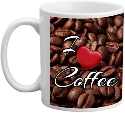 Printocare I Love Coffee Ceramic Mug