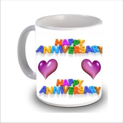 Print Hello happy anniversary 82 Ceramic Mug