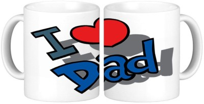 Shopmillions I Love Dad Ceramic Mug