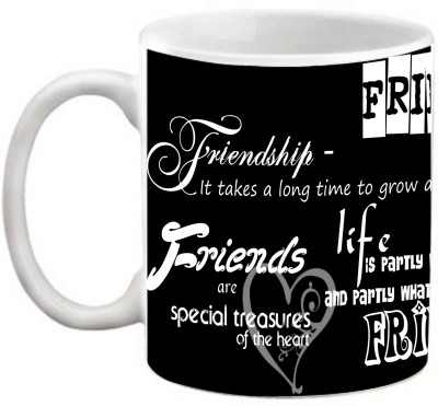 EFW BEST FRIENDS FOREVER - FRIENDSHIP QUOTES PRINTED COFFEE Ceramic Mug