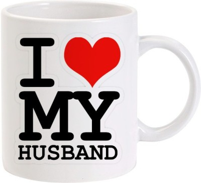 Lolprint 02 I Love my Husband Ceramic Mug
